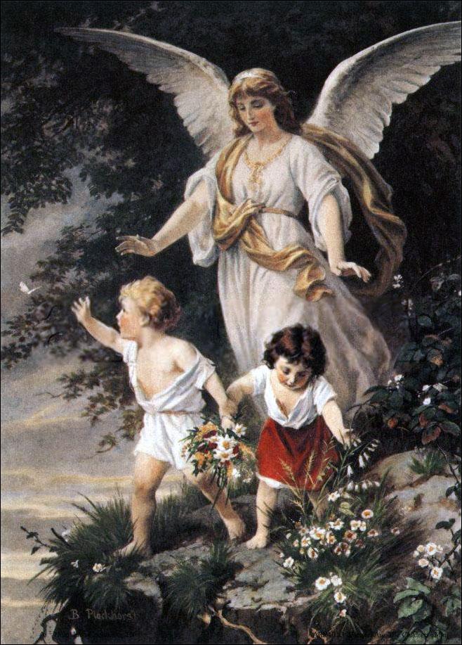 Por Berhard Plockhorst - http://eu.art.com/asp/sp-asp/_/PD--10302816/SP--A/IGID--1009314/Blessed_Are_the_Children.htm?sOrig=CAT&sOrigID=12124&ui=6C19473B2A154BB399A10A16F08022BB, Domínio público, https://commons.wikimedia.org/w/index.php?curid=2005014