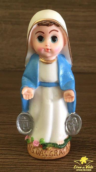 Imagem Nossa Senhora das Graças infantil - 8cm