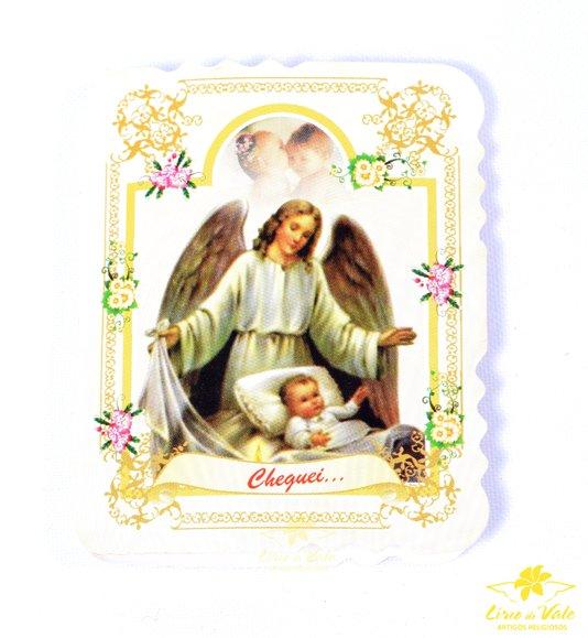 Lembrança de Nascimento com cartão e dezena 10un