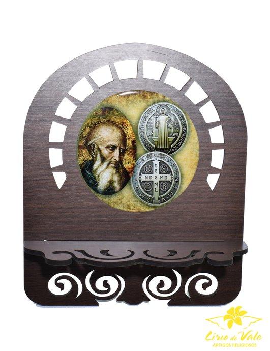 Porta bíblia São Bento - M