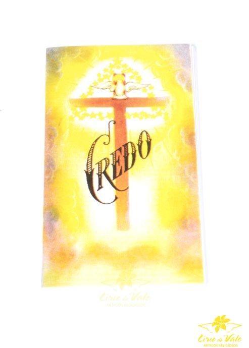 Folheto de oração sanfonado Credo - 10 UN