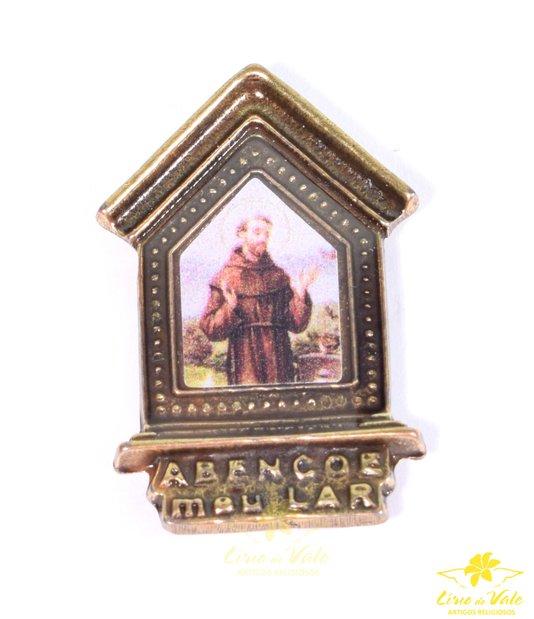 Imã São Francisco - Ouro velho