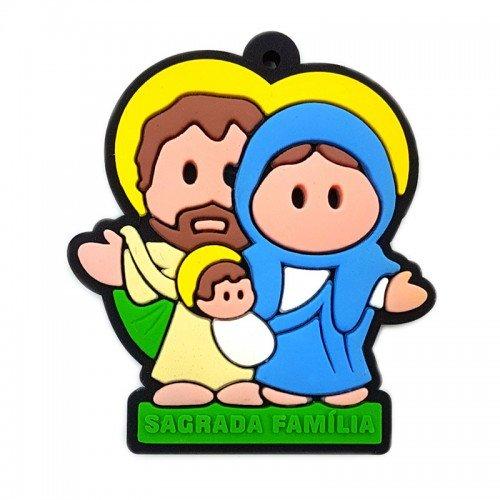 Chaveiro emborrachado Sagrada Família - 06 UN