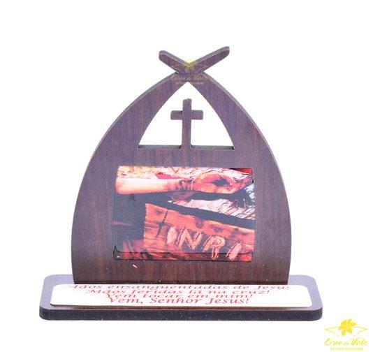 Capela com oração Mãos Ensanguentadas