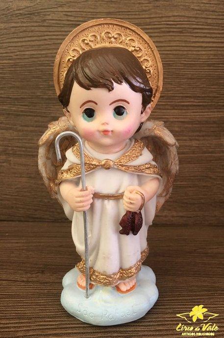 Imagem São Rafael infantil em resina - 15cm