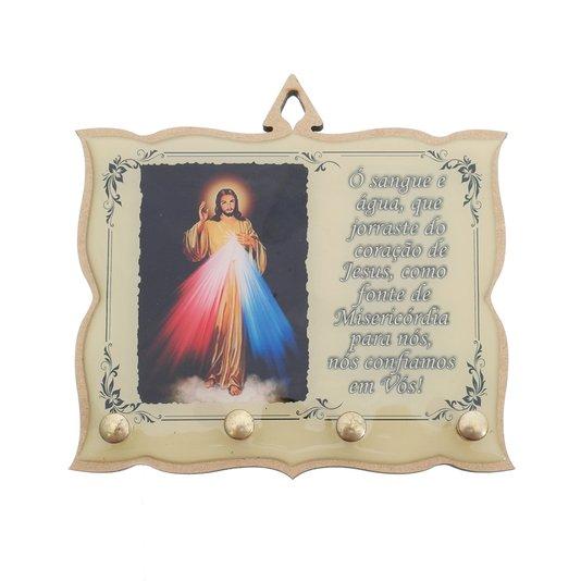 Porta chave Jesus Misericordioso