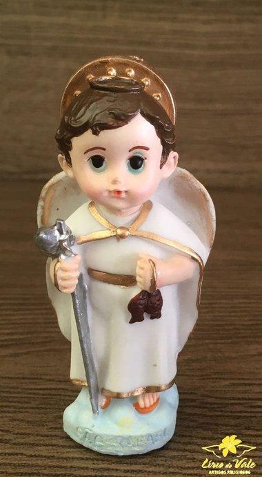 Imagem São Rafael infantil em resina - 8cm