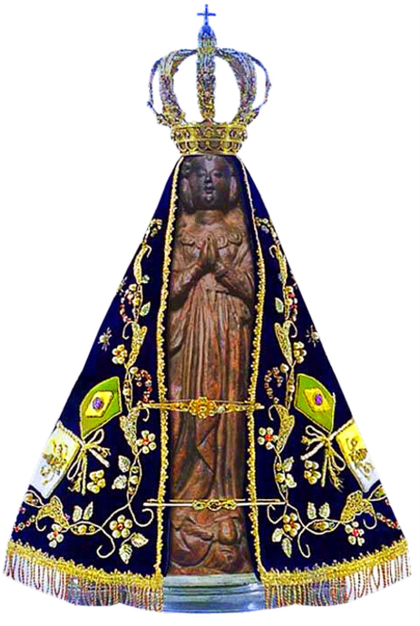 Adesivo de Nossa Senhora Aparecida - 3un