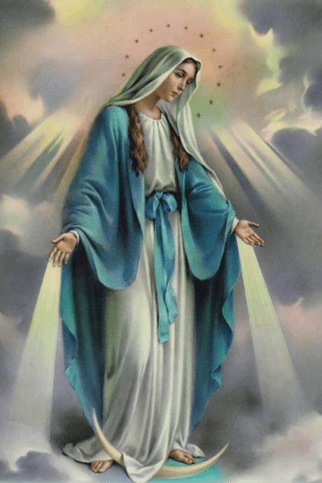 Adesivo de Nossa Senhora das Graças - 3un