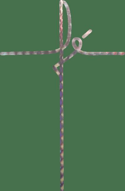 Adesivo Fé P - holográfico 6un