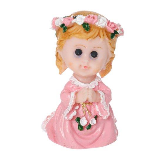 Anjinho Rezando - Rosa 8cm