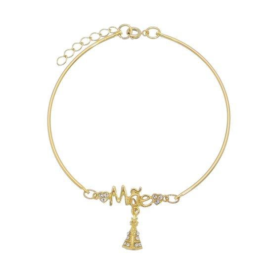 Bracelete Nossa Senhora Aparecida e Mãe