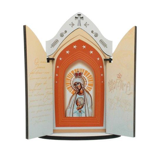 Capela Nossa Senhora de Fátima com porta e oração - P