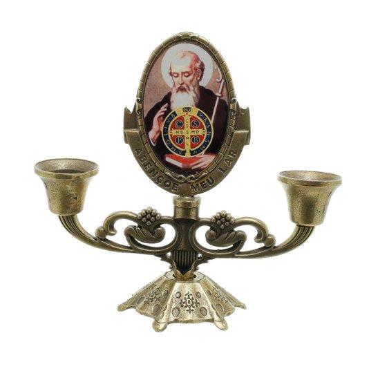 Castiçal São Bento - Bronze