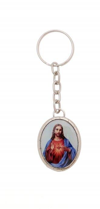 Chaveiro de Sagrado Coração de Jesus