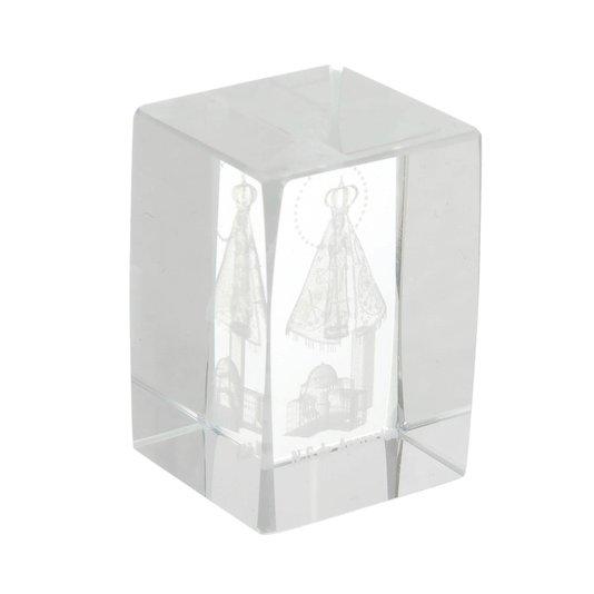 Cristal de Nossa Senhora Aparecida e basílica - P