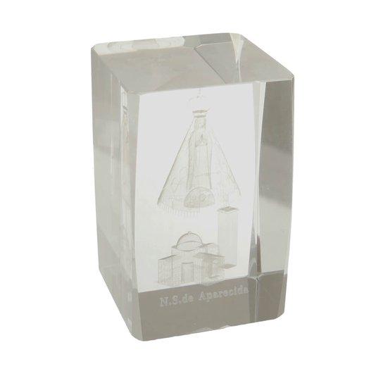 Cristal de Nossa Senhora Aparecida e Basilica nacional