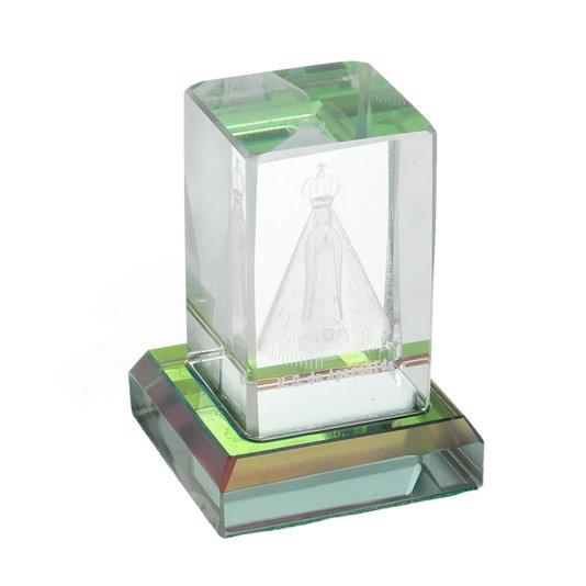 Cristal de Nossa Senhora Aparecida - P