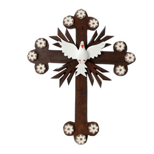 Crucifixo Divino Espírito Santo