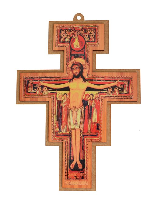 Cruz de São Damião - 20cm