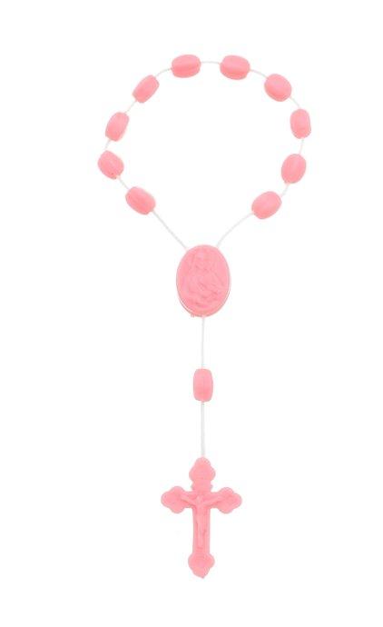 Dezena de plástico - Rosa 12un