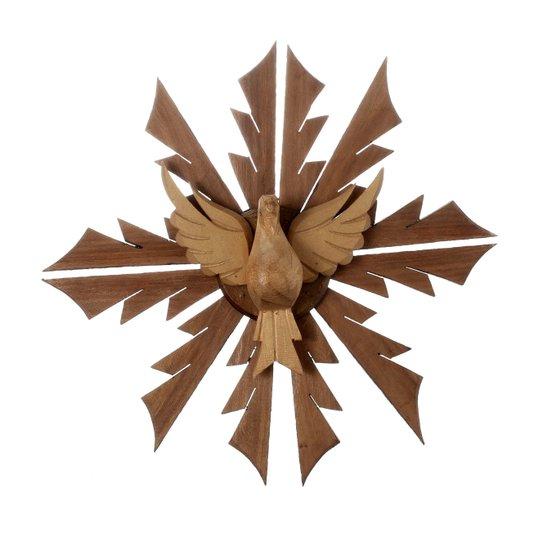 Divino Espirito Santo em madeira