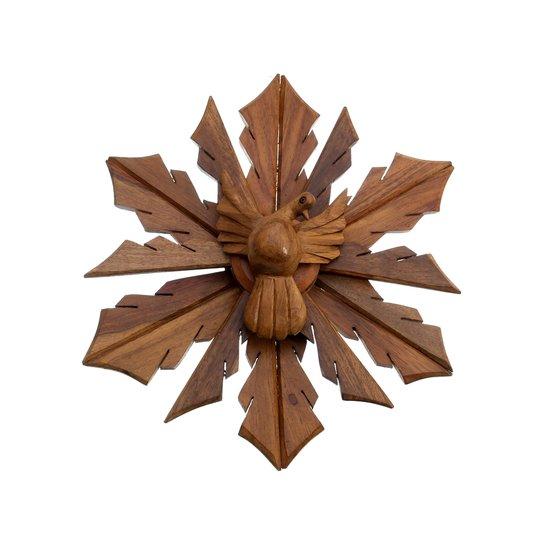 Divino Espírito Santo em madeira de Cedro - 31cm
