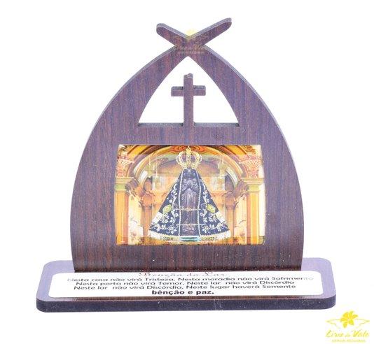 Capela com oração Nossa Senhora Aparecida