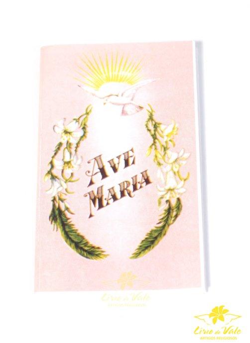 Folheto de oração sanfonado Ave Maria - 10un