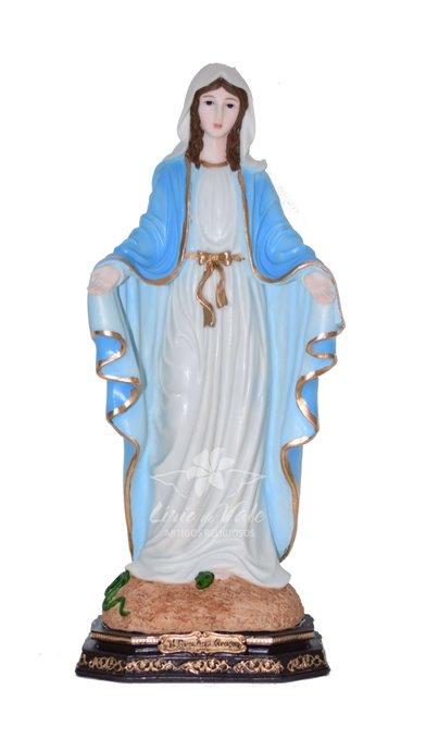 Imagem de Nossa Senhora das Graças em resina - 40cm