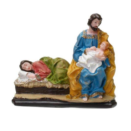 Imagem de Nossa Senhora descansando - Deixa a Mãe descansar em resina 16 x 18cm