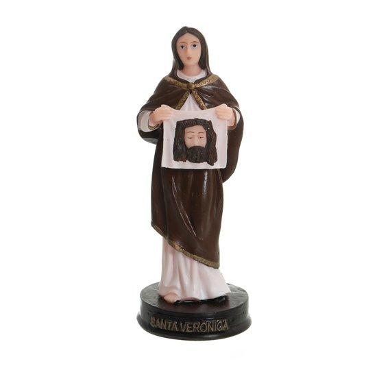 Imagem de Santa Verônica em resina - 13cm