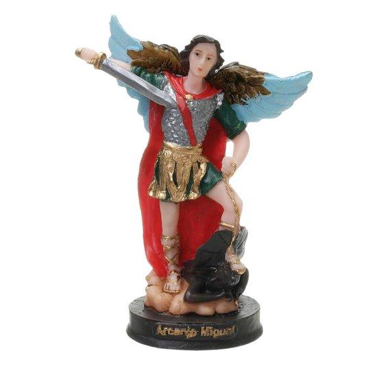 Imagem de São Miguel Arcanjo em resina - 15cm