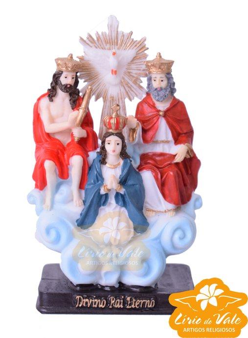 Imagem Divino Pai Eterno em resina - 15cm