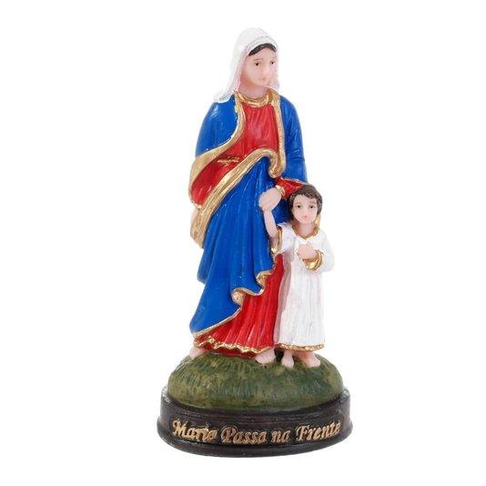 Imagem Maria Passa na Frente em resina - 13cm