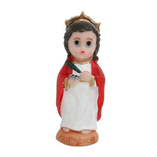 Imagem Santa Luzia infantil em resina - 8cm