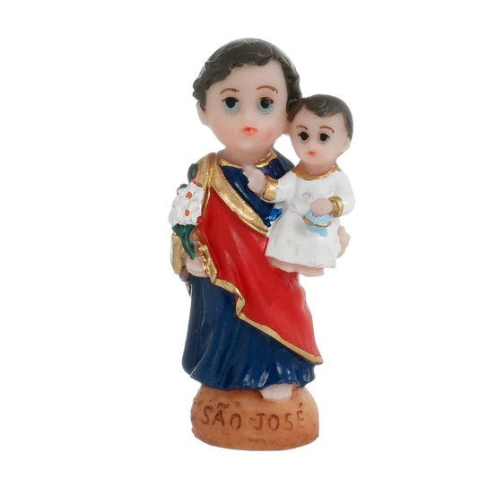 Imagem São Josél infantil em resina - 8cm