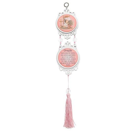 Pêndulo Anjo da Guarda - Rosa