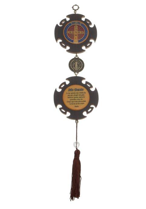 Adorno de luxo Medalha de São Bento - P