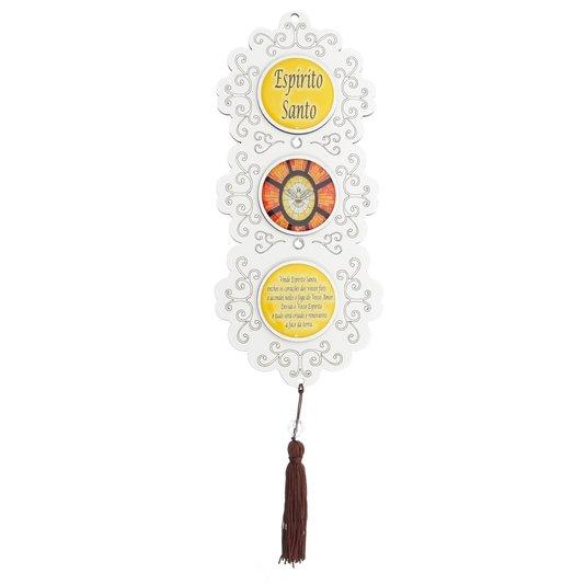 Pêndulo torre Divino Espírito Santo - Amarelo