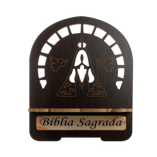 Porta bíblia Nossa Senhora Aparecida gravado - P