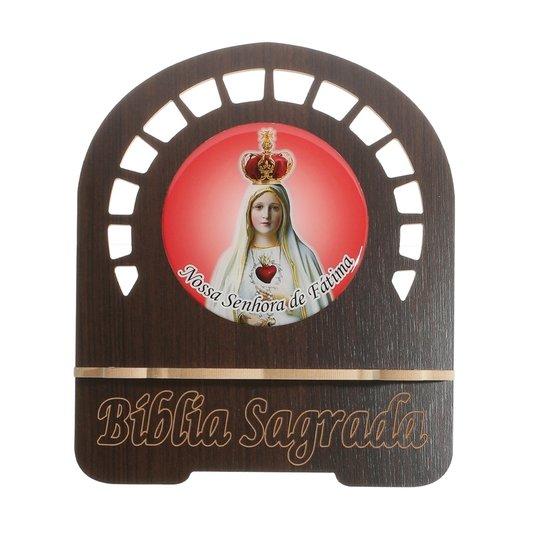 Porta bíblia Nossa Senhora de Fátima - P