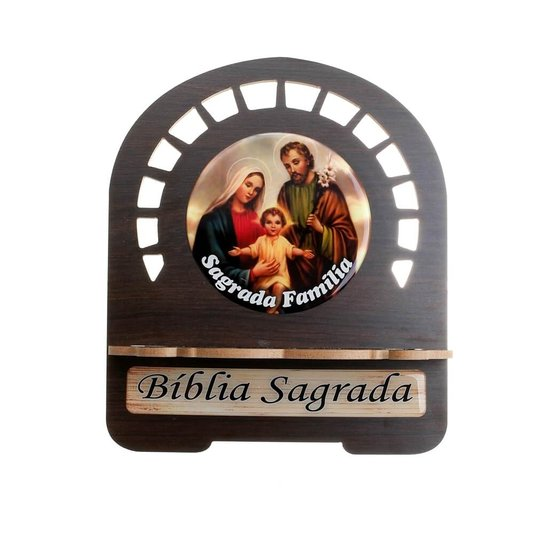 Porta bíblia Sagrada Família - M
