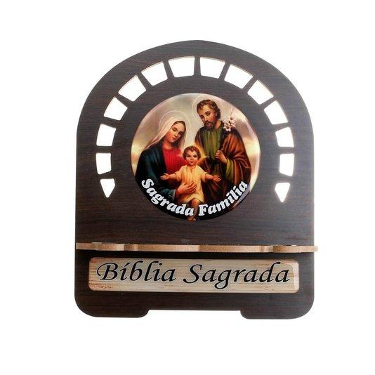 Porta bíblia Sagrada Família - P