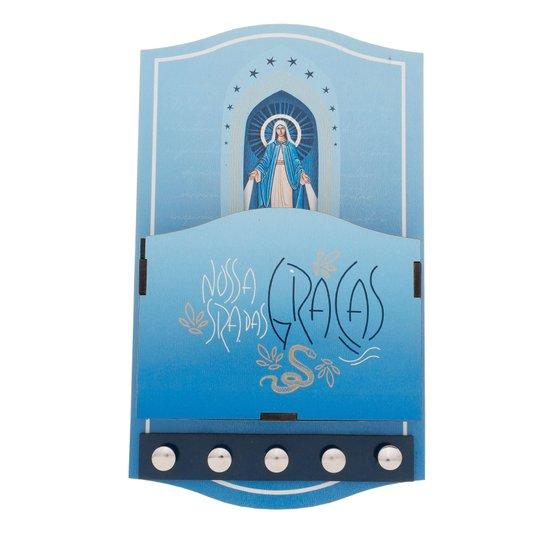 Porta carta Nossa Senhora das Graças - Linha Santos