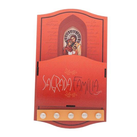 Porta carta Sagrada Família - Linha Santos