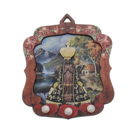 Porta chave Nossa Senhora Aparecida 2D