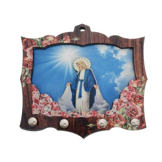 Porta chave Nossa Senhora das Graças 3D