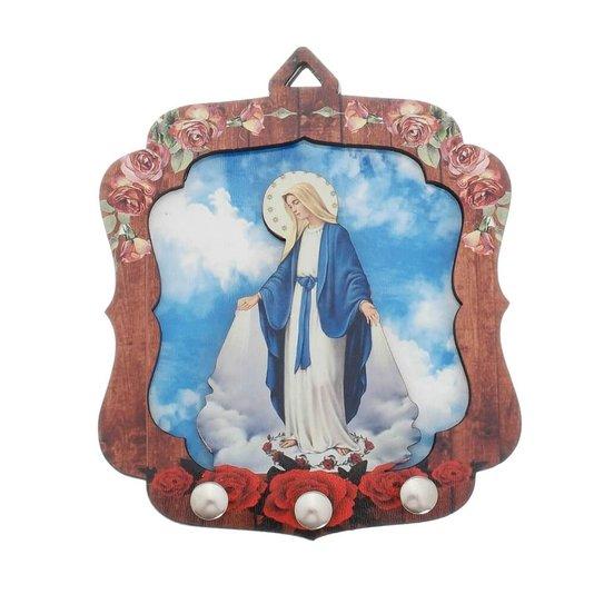 Porta chave Nossa Senhora das Graças 2D