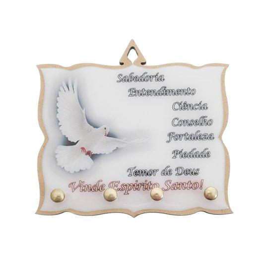 Porta Chave Religioso, porta chave dons do espirito santo, porta chave